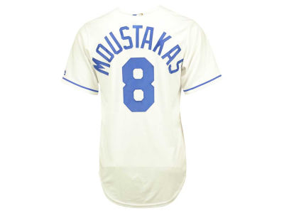 Kansas City Royals Mike Moustakas Majestic MLB Men's Player Replica CB Jersey