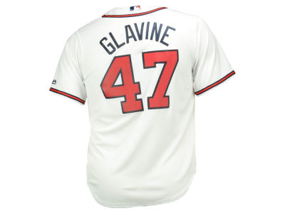 Atlanta Braves Tom Glavine Majestic MLB Men's Cooperstown Player Replica CB Jersey