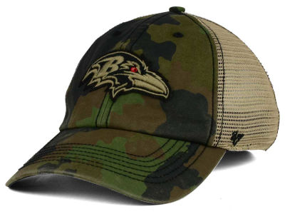 Baltimore Ravens '47 NFL Barge Relaxed '47 CLOSER Cap
