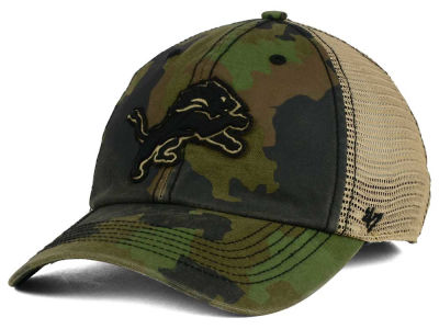 Detroit Lions '47 NFL Barge Relaxed '47 CLOSER Cap