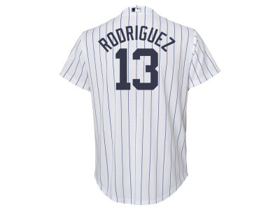 New York Yankees Alex Rodriguez Majestic MLB Youth Player Replica CB Jersey