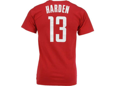Houston Rockets James Harden NBA Kids Name And Number T-Shirt