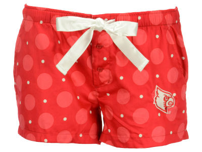 Louisville Cardinals NCAA Women's Headliner Woven Lounge Shorts