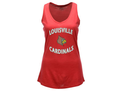 Louisville Cardinals NCAA Women's Slub Knit Tank