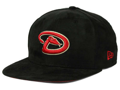Arizona Diamondbacks New Era MLB Suede Collection 9FIFTY Strapback Cap