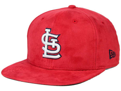 St. Louis Cardinals New Era MLB Suede Collection 9FIFTY Strapback Cap
