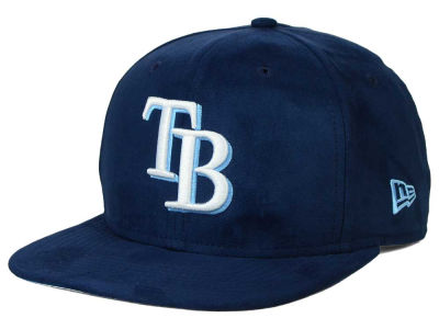 Tampa Bay Rays New Era MLB Suede Collection 9FIFTY Strapback Cap