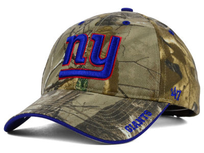 New York Giants '47 NFL Realtree Frost MVP Cap