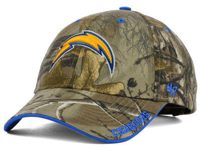 San Diego Chargers '47 NFL Realtree Frost MVP Cap