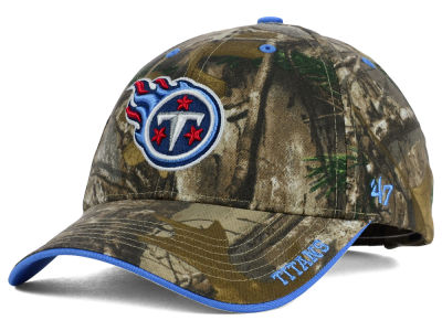 Tennessee Titans '47 NFL Realtree Frost MVP Cap