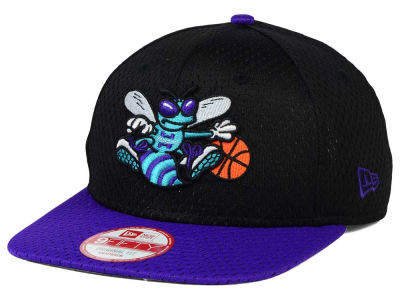 Charlotte Hornets New Era NBA HWC Jersey Gamer 9FIFTY Snapback Cap