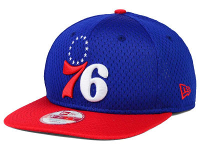Philadelphia 76ers New Era NBA HWC Jersey Gamer 9FIFTY Snapback Cap