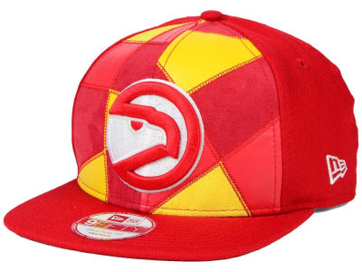 Atlanta Hawks New Era NBA HWC Cut & Paste 9FIFTY Snapback Cap