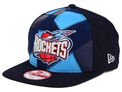 Houston Rockets New Era NBA HWC Cut & Paste 9FIFTY Snapback Cap