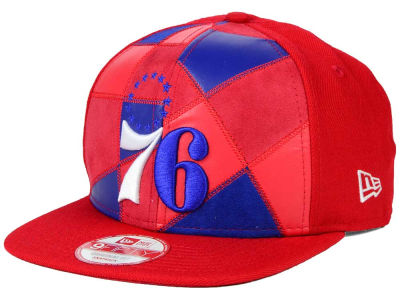 Philadelphia 76ers New Era NBA HWC Cut & Paste 9FIFTY Snapback Cap