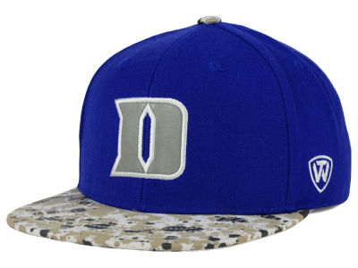 Duke Blue Devils Top of the World NCAA Milk and Cookies Strapback Cap