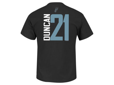 San Antonio Spurs Tim Duncan NBA Toddler Vertical Name and Number T-Shirt