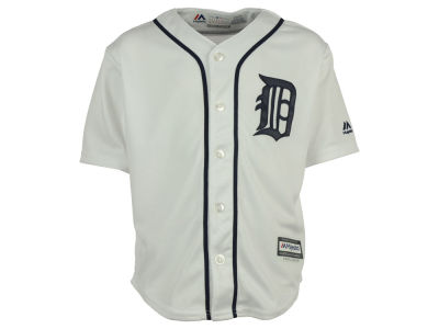 Detroit Tigers Majestic MLB Kids Blank Replica Cool Base Jersey