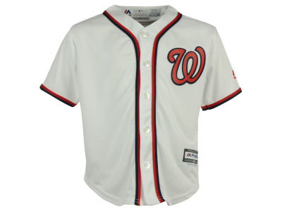 Washington Nationals Majestic MLB Kids Blank Replica Cool Base Jersey