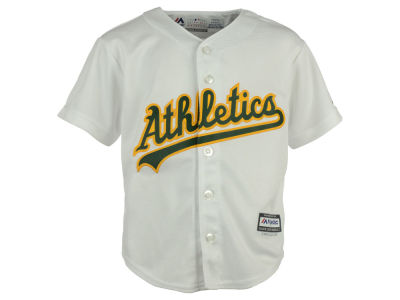 Oakland Athletics Majestic MLB Kids Blank Replica Cool Base Jersey