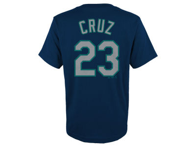 Seattle Mariners Nelson Cruz MLB Youth Official Player T-Shirt