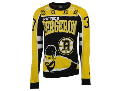 Boston Bruins Patrice Bergeron La Tilda NHL Men's Player Ugly Sweater