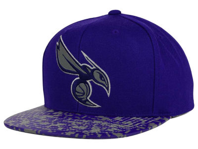Charlotte Hornets Mitchell and Ness NBA Digi Reflective Snapback Cap