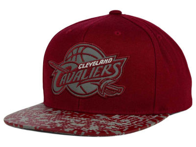 Cleveland Cavaliers Mitchell and Ness NBA Digi Reflective Snapback Cap