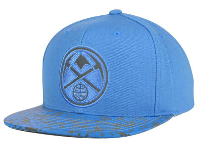 Denver Nuggets Mitchell and Ness NBA Digi Reflective Snapback Cap