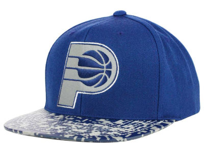 Indiana Pacers Mitchell and Ness NBA Digi Reflective Snapback Cap