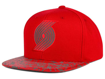 Portland Trail Blazers Mitchell and Ness NBA Digi Reflective Snapback Cap