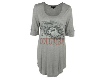 Ohio State Buckeyes NCAA Women's Half Sleeve Landmark Shirt