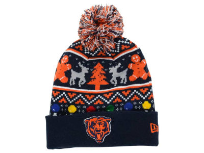 Chicago Bears New Era NFL Ugly Sweater Pom Knit