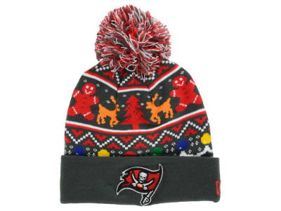 Tampa Bay Buccaneers New Era NFL Ugly Sweater Pom Knit