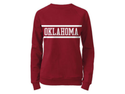 Oklahoma Sooners NCAA Women's Phys. Ed Secret Crew Sweatshirt