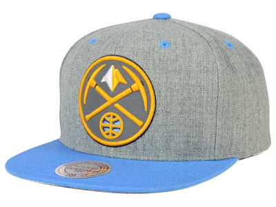 Denver Nuggets Mitchell and Ness NBA H-Reflective XL Snapback Cap