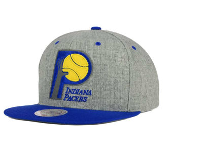 Indiana Pacers Mitchell and Ness NBA H-Reflective XL Snapback Cap
