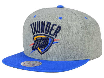 Oklahoma City Thunder Mitchell and Ness NBA H-Reflective XL Snapback Cap