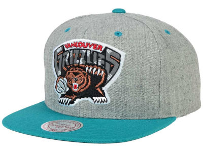 Vancouver Grizzlies Mitchell and Ness NBA H-Reflective XL Snapback Cap