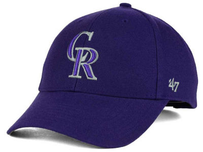 Colorado Rockies '47 MLB Curved '47 MVP Cap