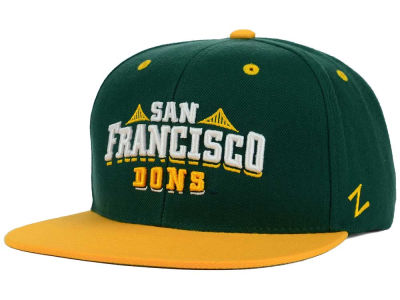University of San Francisco Dons Zephyr NCAA Z11 Snapback Hat
