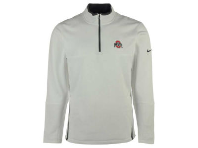 Ohio State Buckeyes Nike NCAA Men's Therma-Fit 1/4 Zip Pullover Shirt