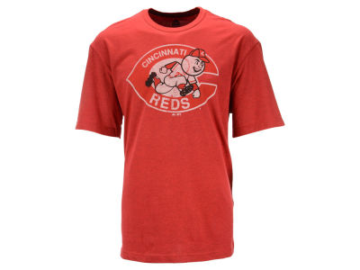 Cincinnati Reds Majestic MLB Men's Leadoff Cooperstown T-Shirt