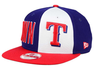 Texas Rangers New Era MLB My Block 9FIFTY Snapback Cap
