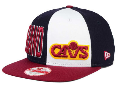 Cleveland Cavaliers New Era NBA HWC My Block 9FIFTY Snapback Cap