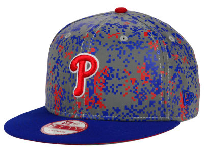 Philadelphia Phillies New Era MLB DC Team Reflective 9FIFTY Snapback Cap