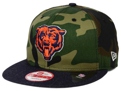 Chicago Bears New Era NFL Camo Heather 9FIFTY Snapback Cap