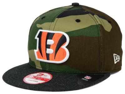 Cincinnati Bengals New Era NFL Camo Heather 9FIFTY Snapback Cap