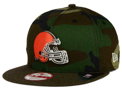 Cleveland Browns New Era NFL Camo Heather 9FIFTY Snapback Cap