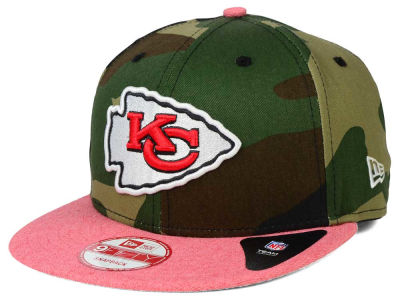 Kansas City Chiefs New Era NFL Camo Heather 9FIFTY Snapback Cap